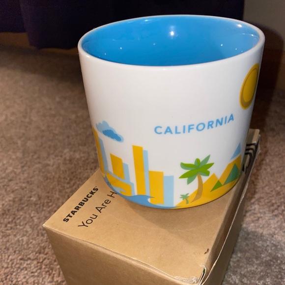 Starbucks You Are Here California Mug